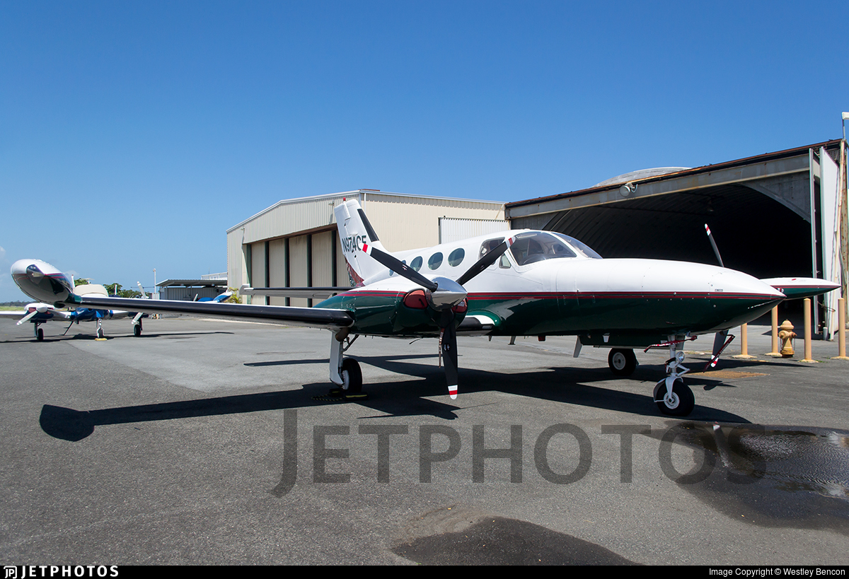 N974CF - Cessna 421B Golden Eagle - Private