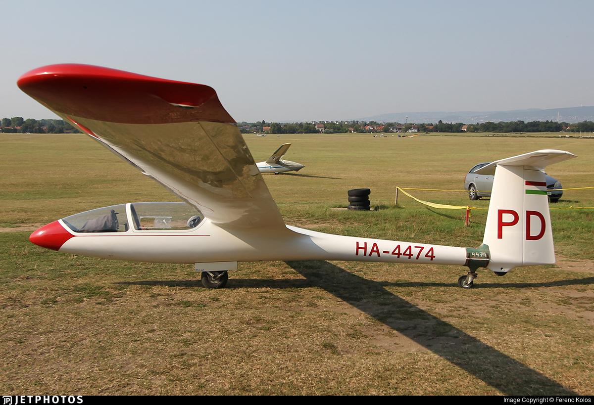 HA-4474 - SZD 48 Jantar Standard 2 - Magyar Repülõ Szövetség