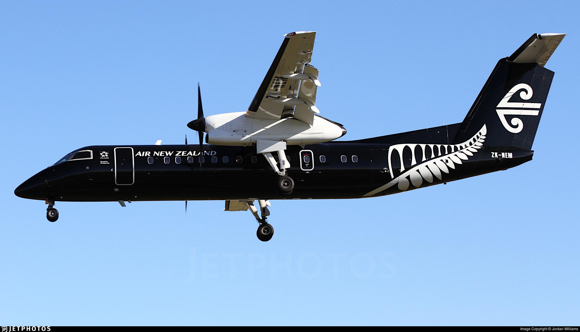 ZK-NEM - Bombardier Dash 8-Q311 - Air New Zealand Link (Air Nelson)