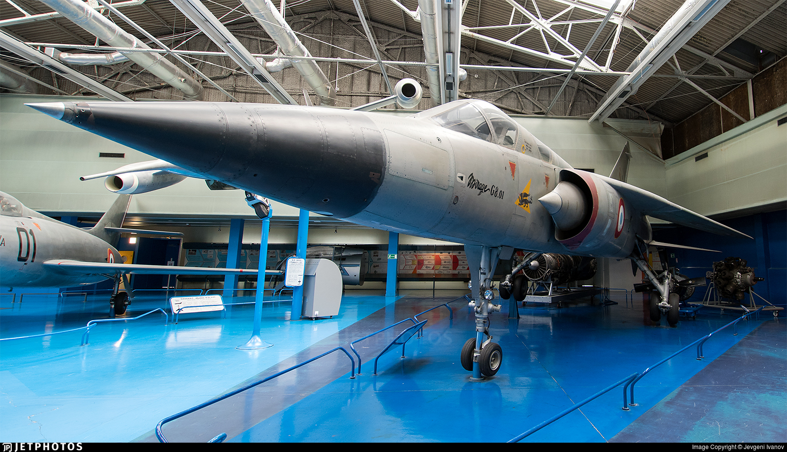 01 - Dassault Mirage G8 - France - Air Force