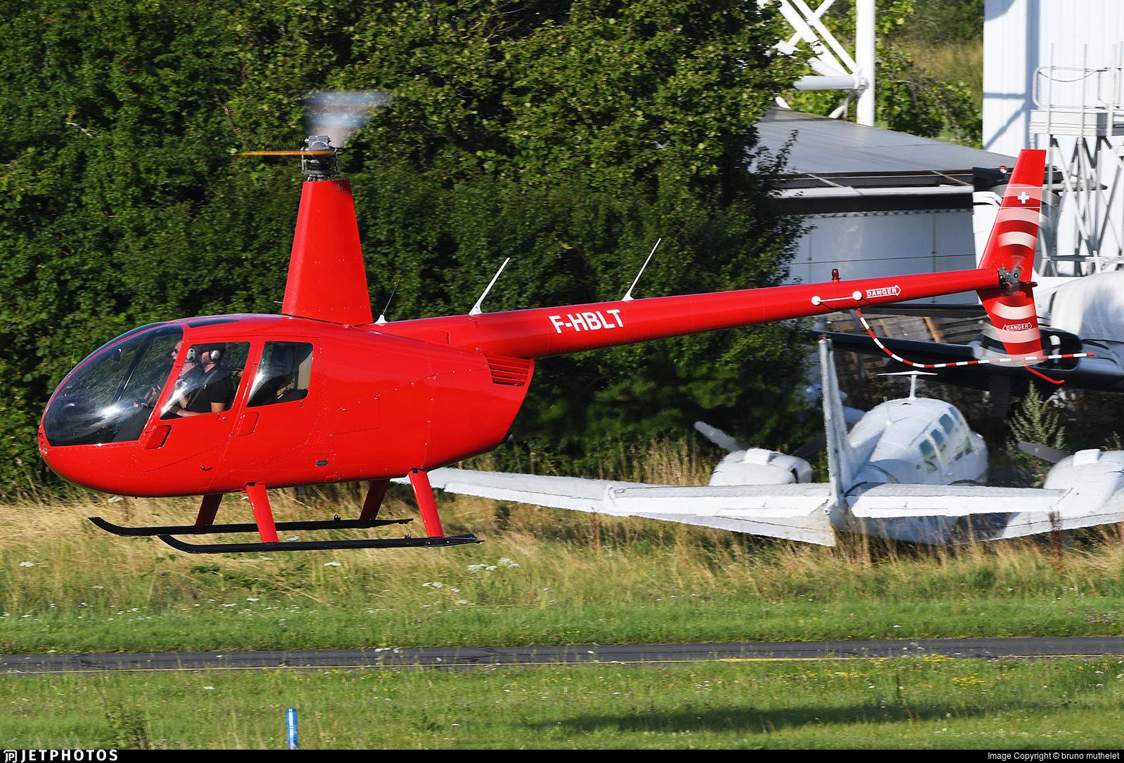F-HBLT - Robinson R44 Raven II - Private