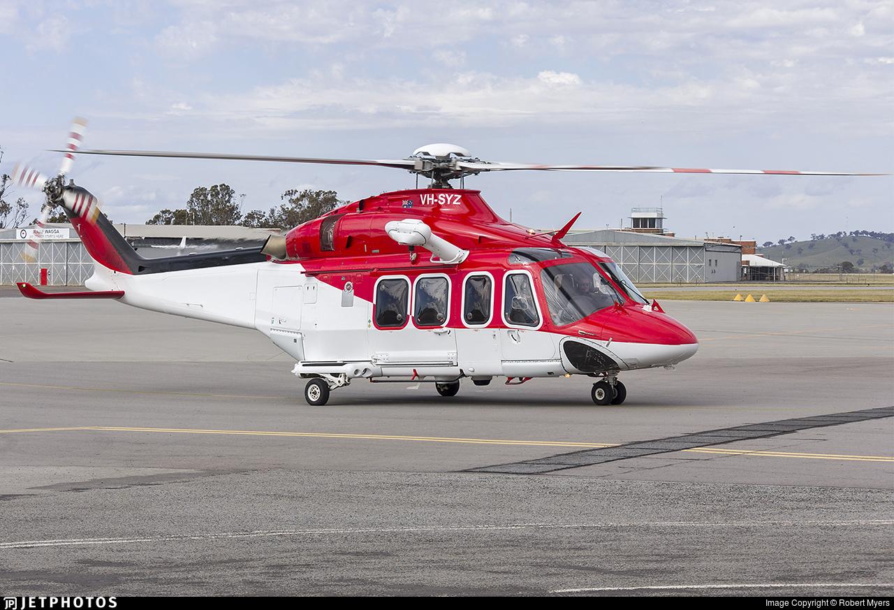 VH-SYZ - Agusta-Westland AW-139 - CHC Helicopters Australia