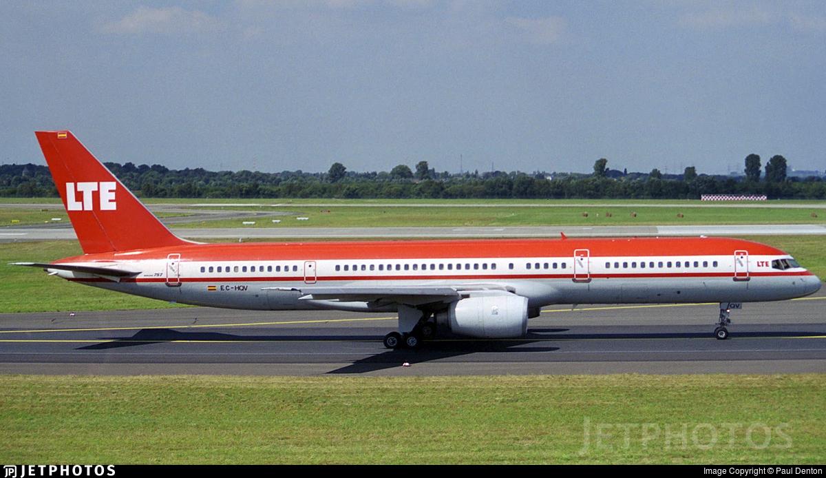 EC-HQV - Boeing 757-2G5 - LTE International Airways