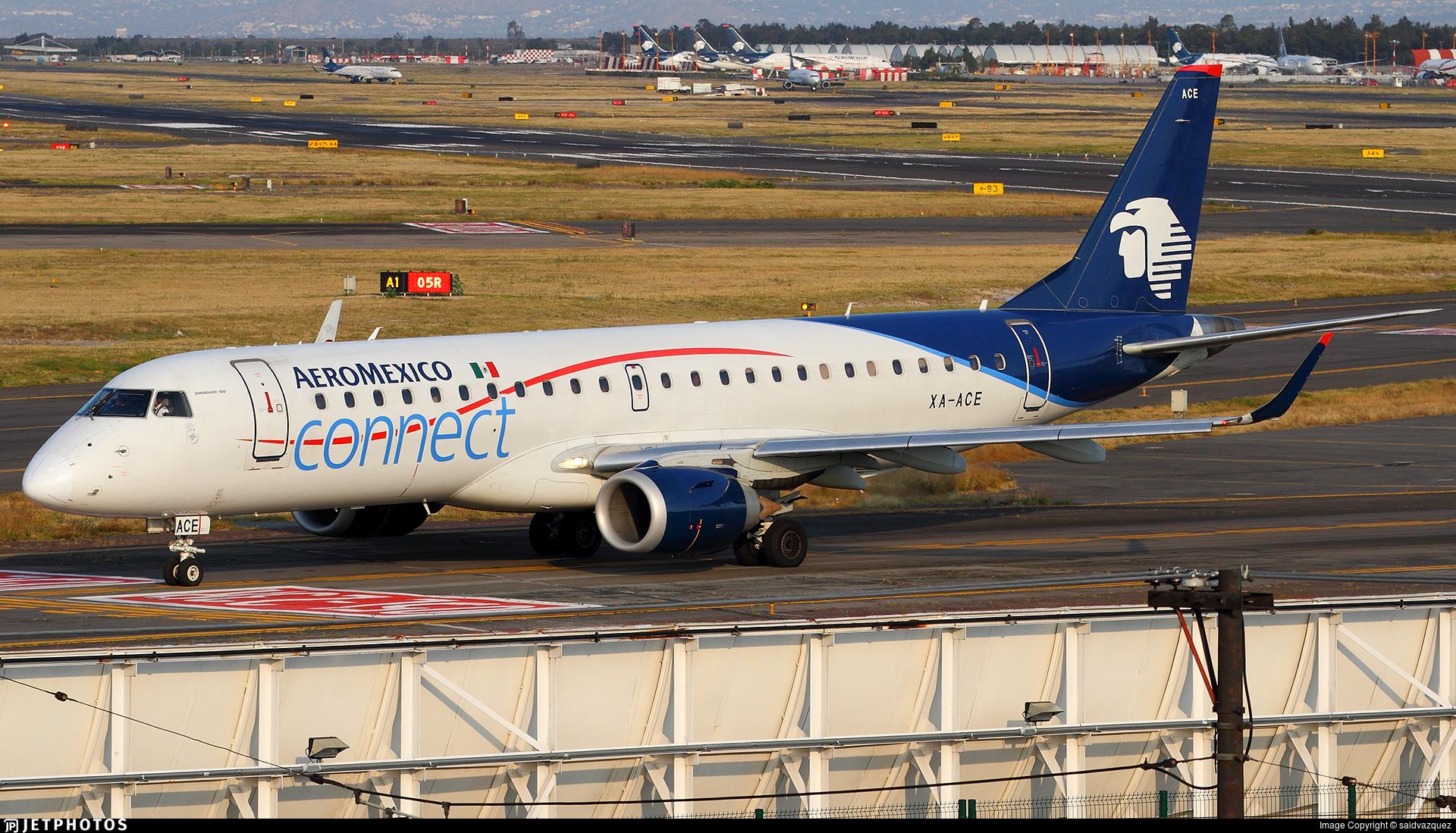 XA-ACE - Embraer 190-100LR - Aeromexico Connect