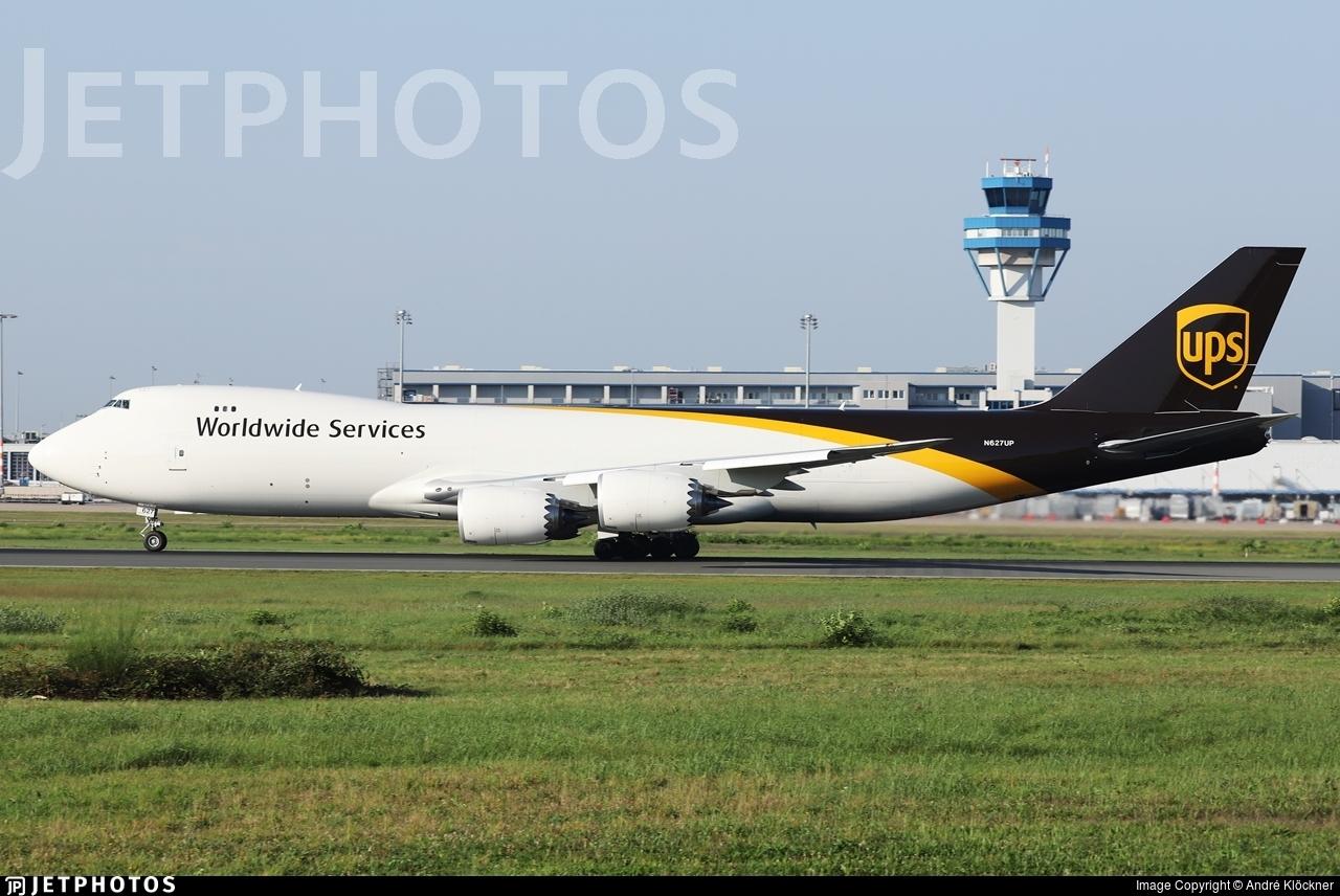 N627UP - Boeing 747-84AF - United Parcel Service (UPS)