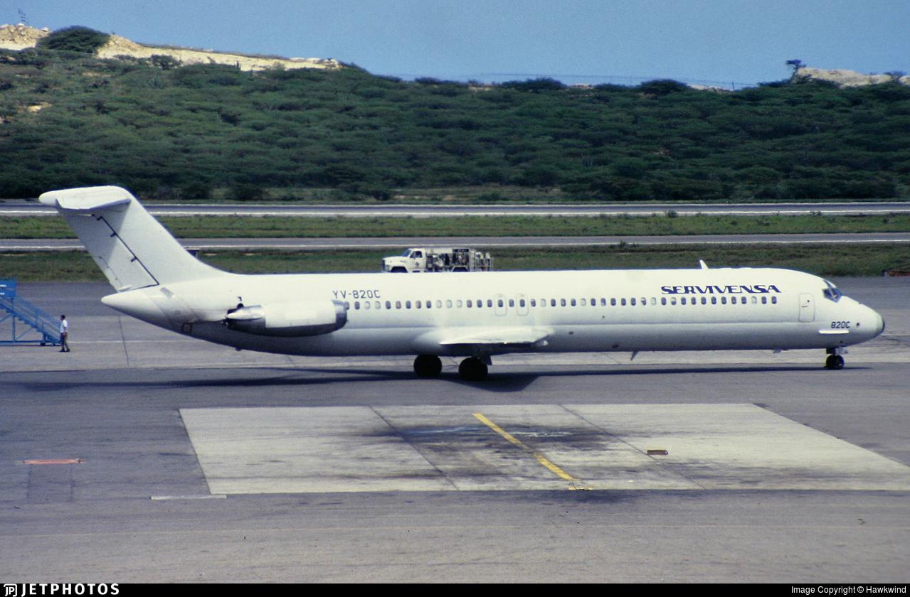 YV-820C - McDonnell Douglas DC-9-51 - Servivensa