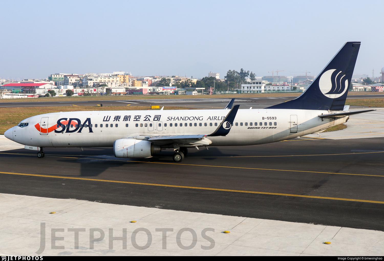 B-5593 - Boeing 737-85N - Shandong Airlines