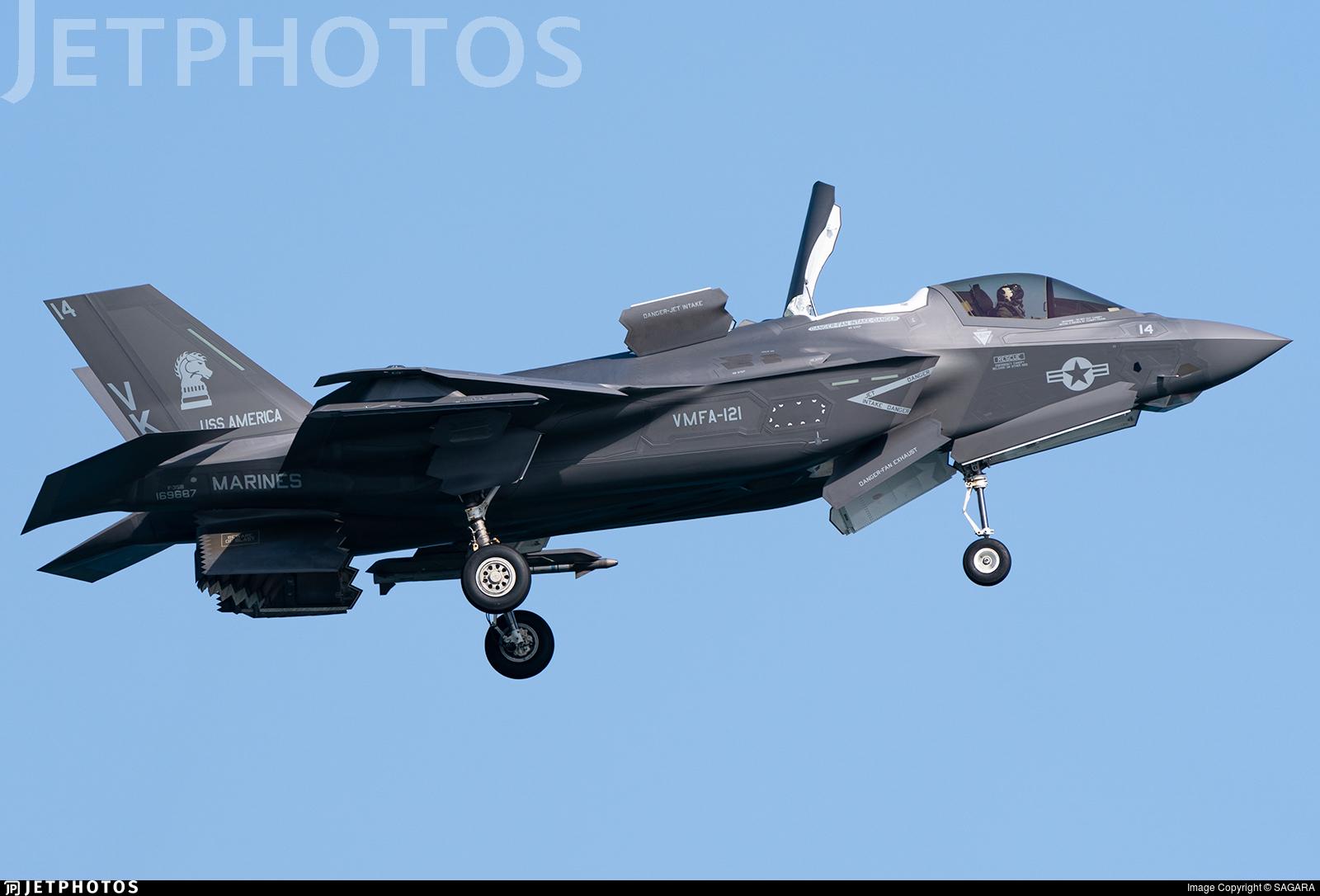 169687 - Lockheed Martin F-35B Lightning II - United States - US Marine Corps (USMC)