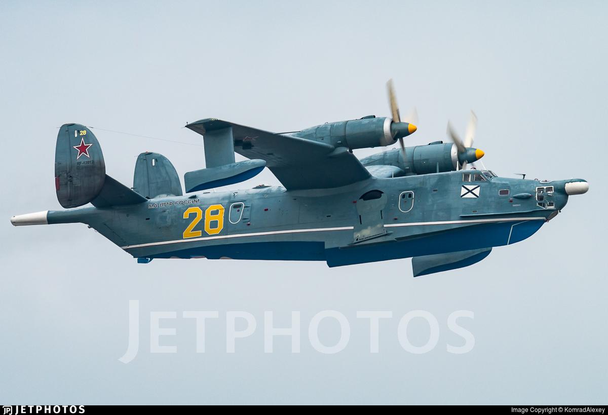 RF-12012 - Beriev Be-12 - Russia - Navy