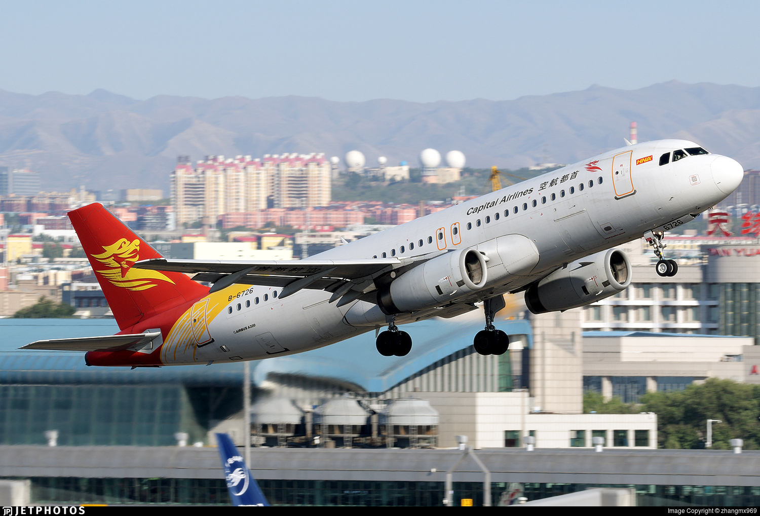 B-6726 - Airbus A320-232 - Capital Airlines