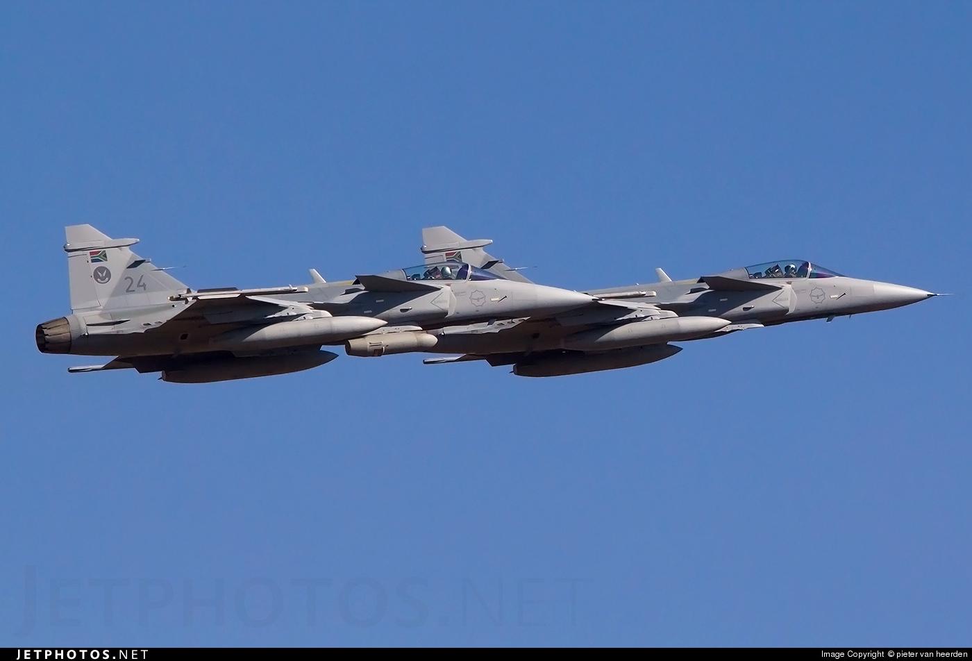 24 - Saab JAS-39C Gripen - South Africa - Air Force
