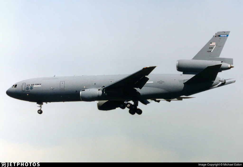 87-0118 - McDonnell Douglas KC-10A Extender - United States - US Air Force (USAF)