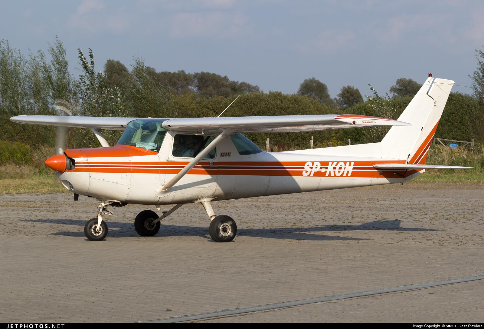 SP-KOH - Cessna 152 - Aero Club - Bialostocki