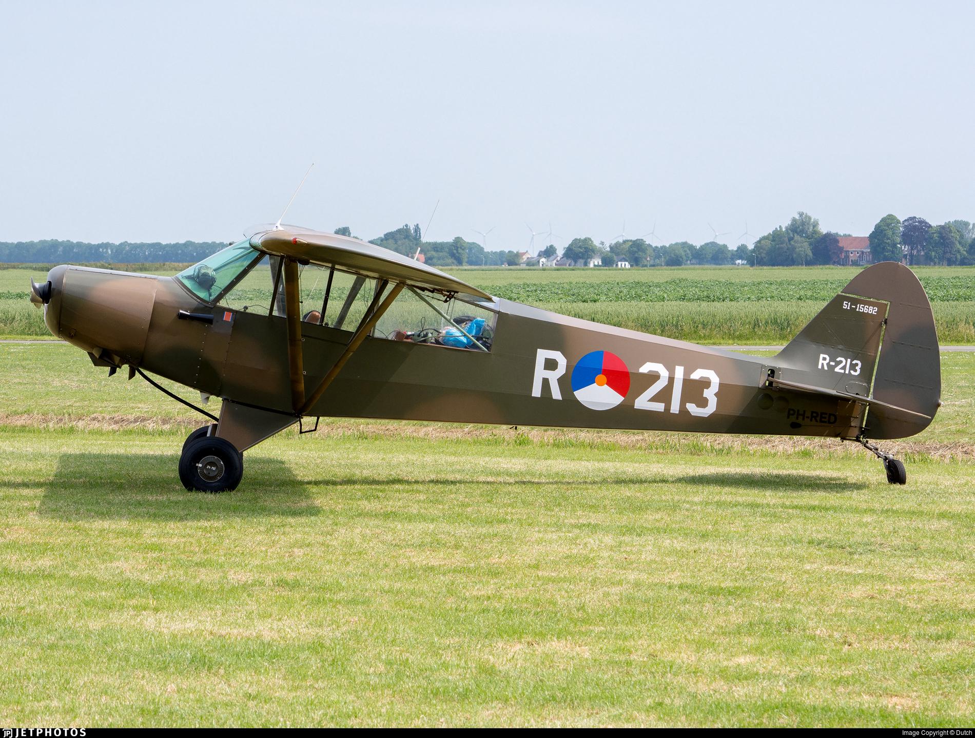 PH-RED | Piper PA-18-125 Super Cub | Private | Dutch | JetPhotos