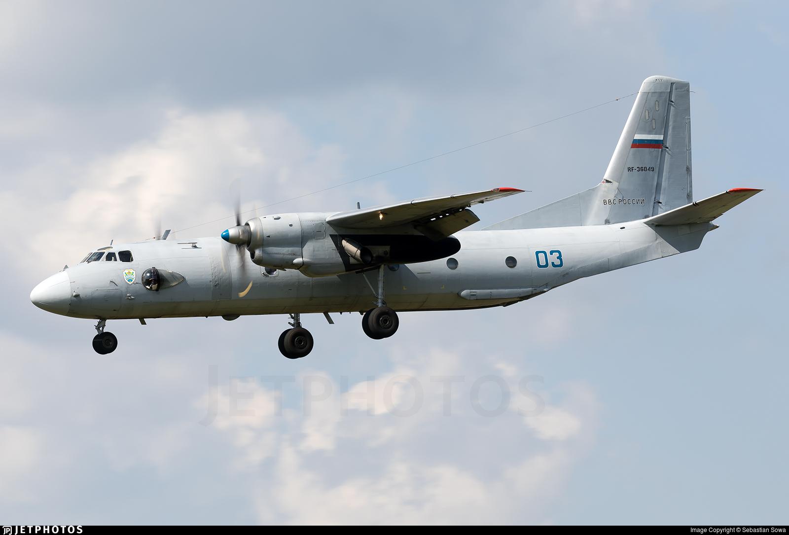 RF-36049 - Antonov An-26B - Russia - Air Force