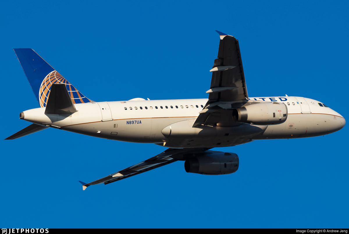 N897UA - Airbus A319-132 - United Airlines