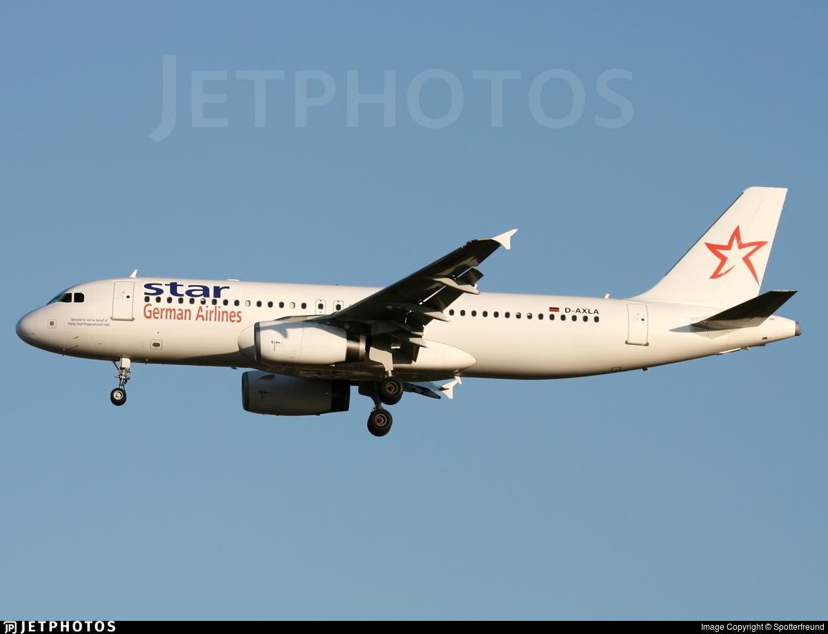 D-AXLA - Airbus A320-232 - Star XL