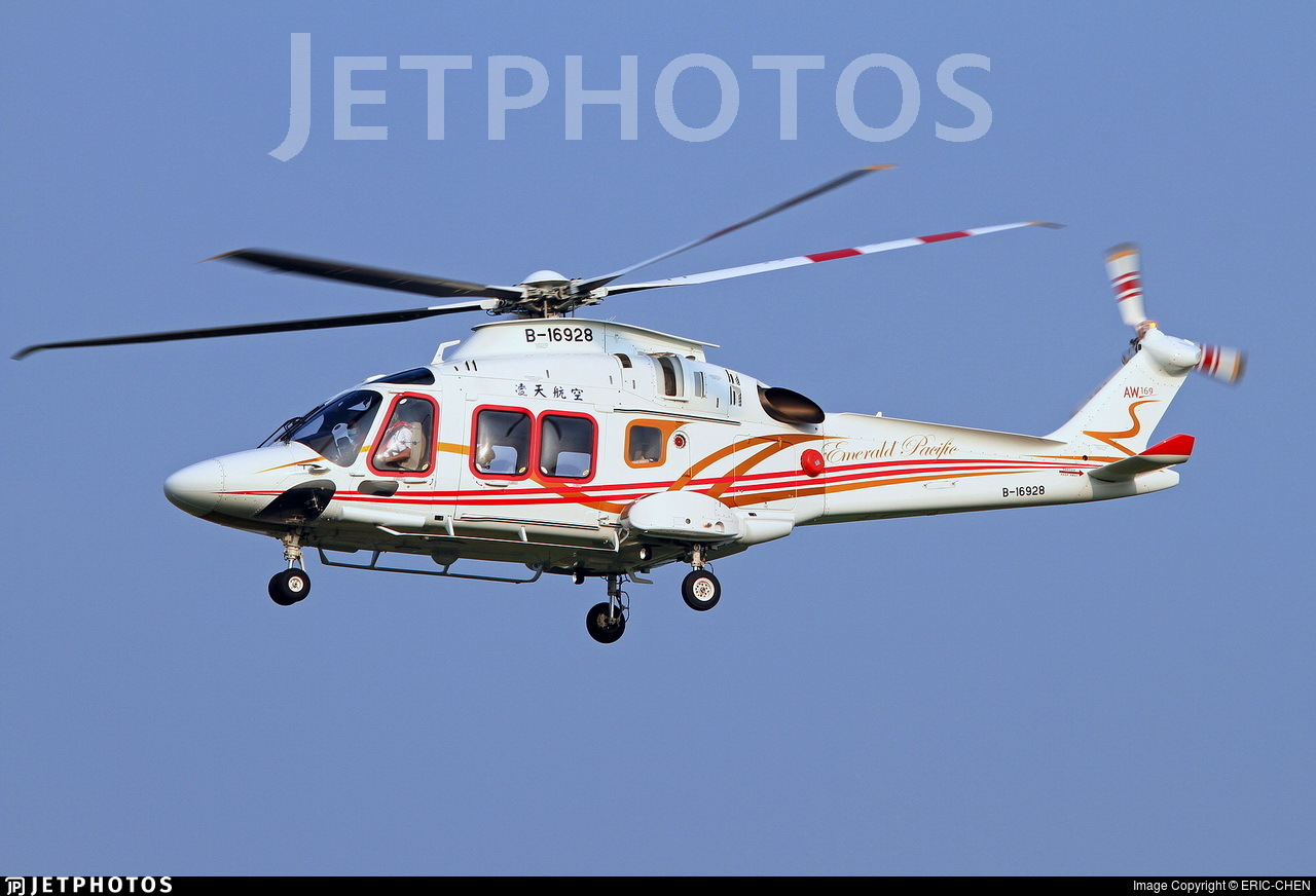 B-16928 - Agusta-Westland AW-169 - Emerald Pacific Airlines