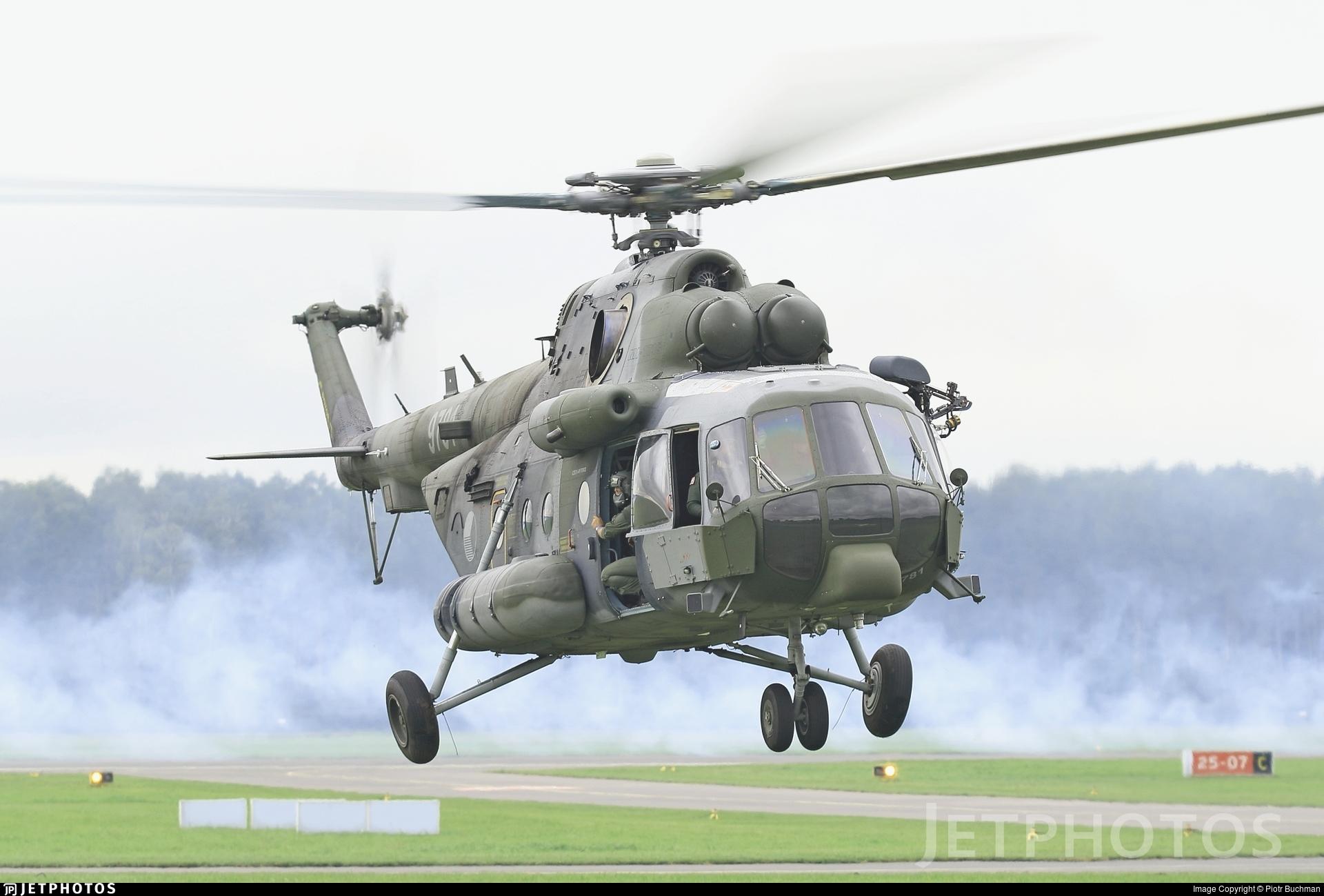 9871 - Mil Mi-171Sh Baikal - Czech Republic - Air Force