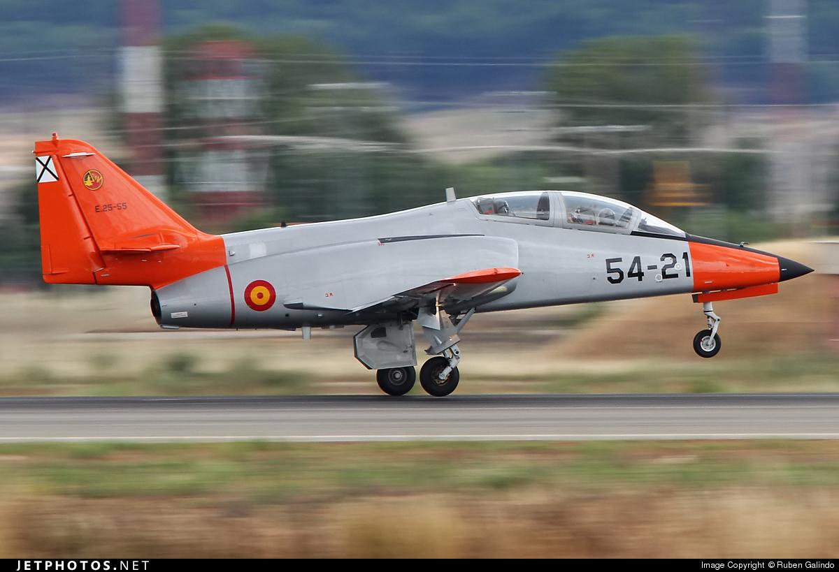 E.25-55 - CASA C-101EB Aviojet - Spain - Air Force