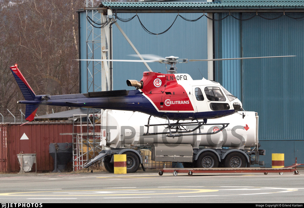 LN-OFQ - Airbus Helicopters H125 - Helitrans