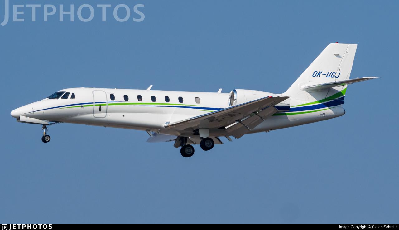 OK-UGJ - Cessna 680 Citation Sovereign - Travel Service