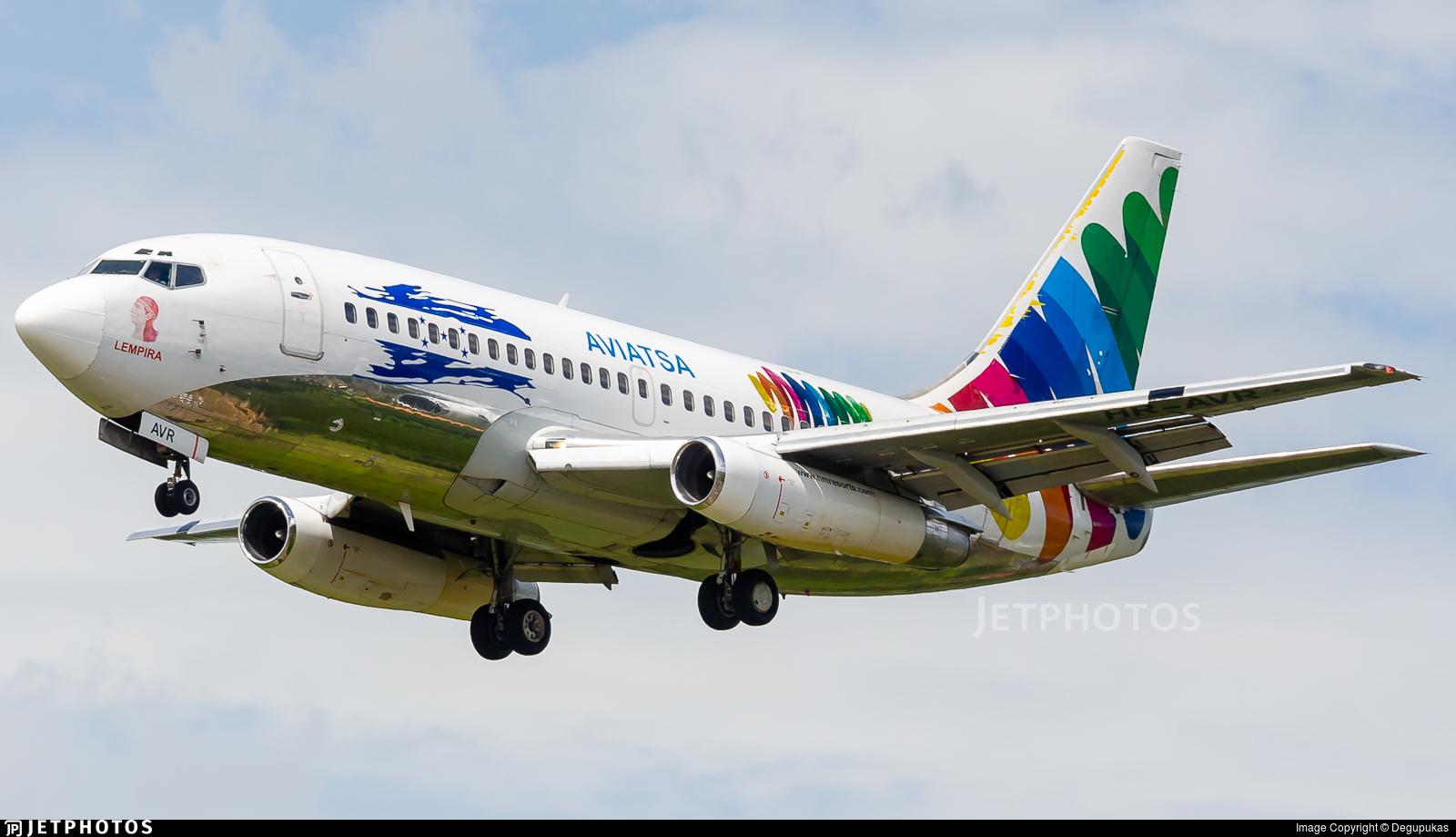 HR-AVR - Boeing 737-232(Adv) - AVIATSA Aviación Tecnológica