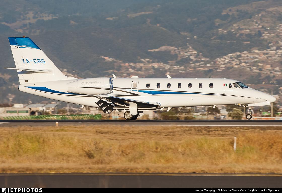 XA-CRS - Cessna 680 Citation Sovereign - Servicios Aéreos Across