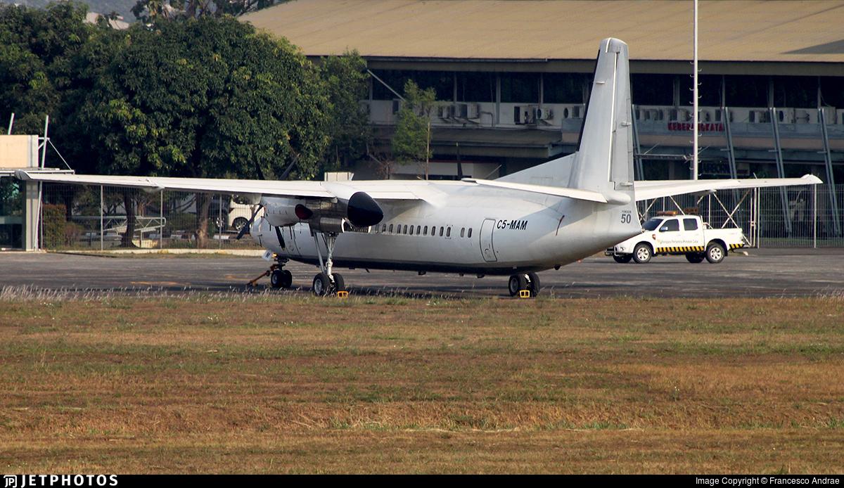 C5-MAM - Fokker 50 - Tarco Air