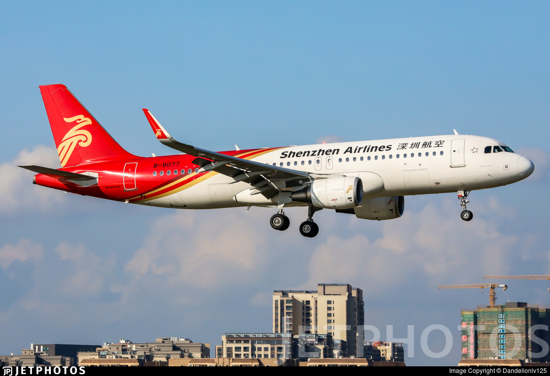 B-8077 - Airbus A320-214 - Shenzhen Airlines