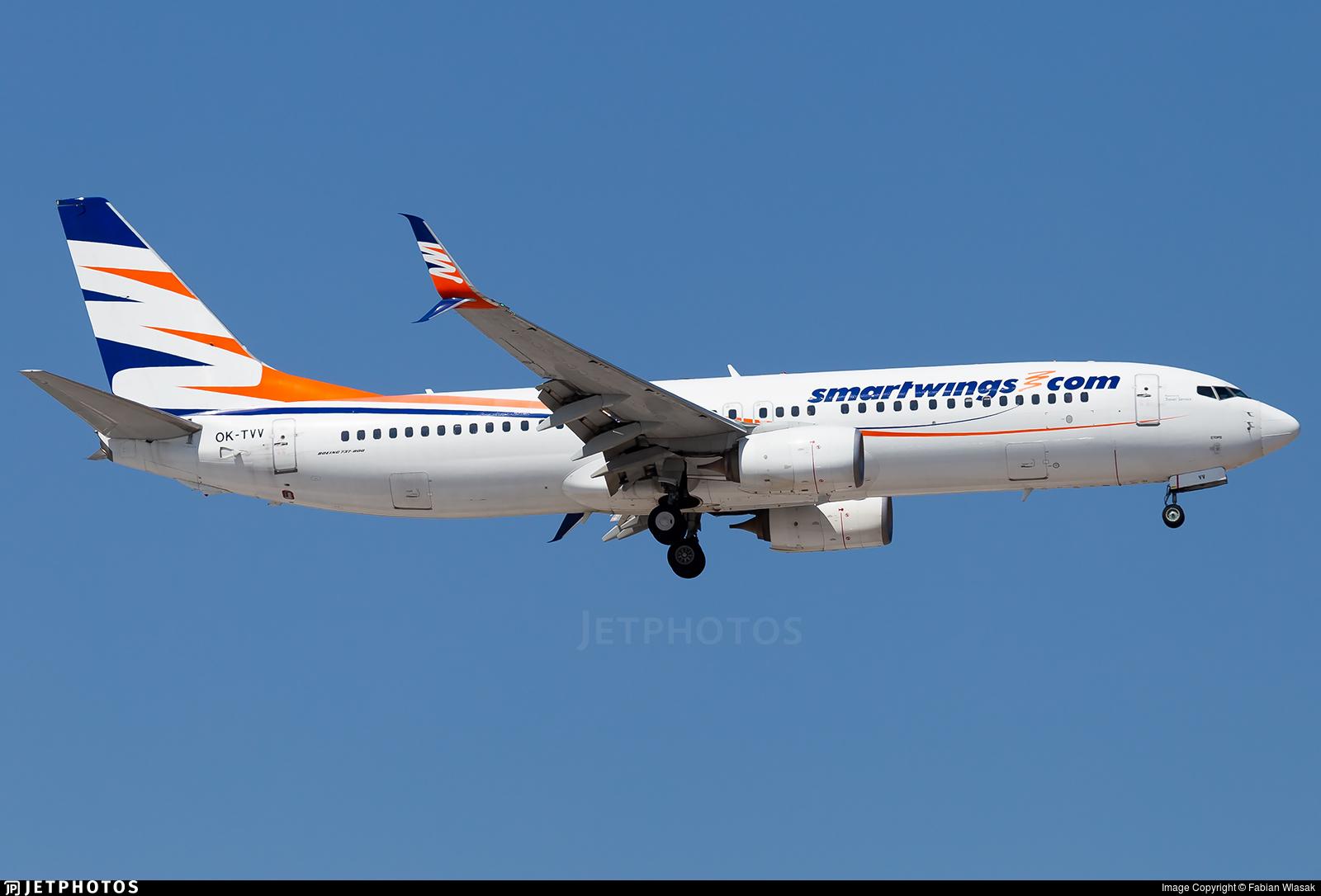 OK-TVV - Boeing 737-86N - SmartWings