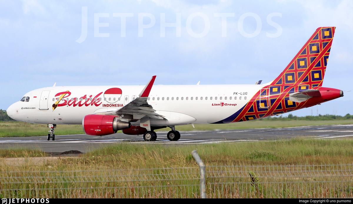 PK-LUG   Airbus A320-214   Batik Air   uno purnomo   JetPhotos
