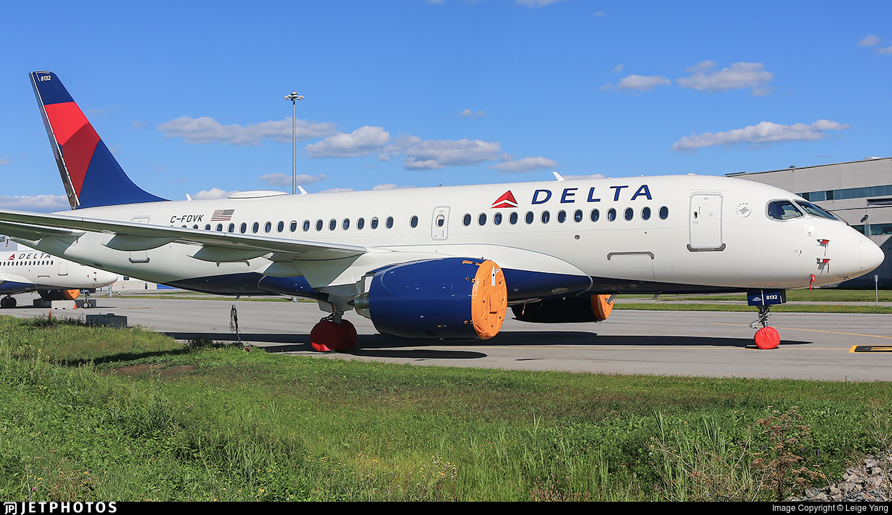 C-FOVK - Airbus A220-171 - Delta Air Lines