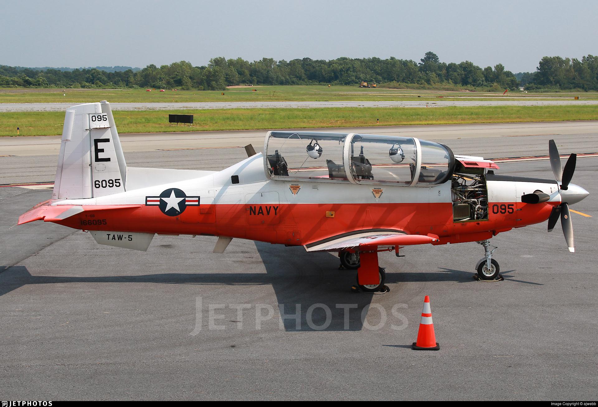 166095 - Raytheon T-6B Texan II - United States - US Navy (USN)