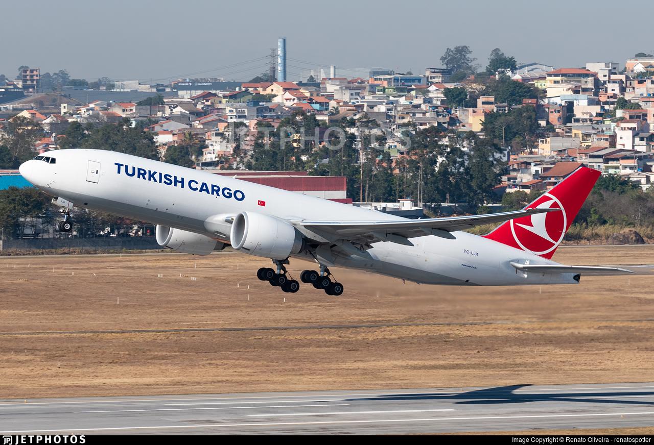 TC-LJR - Boeing 777-FF2 - Turkish Airlines Cargo