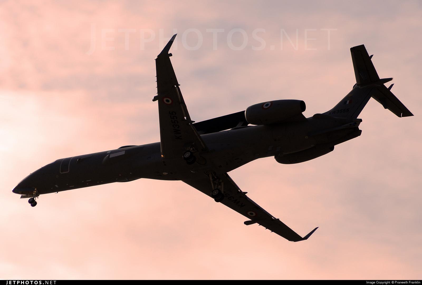 KW3555 - Embraer ERJ-145AEW - India - Air Force