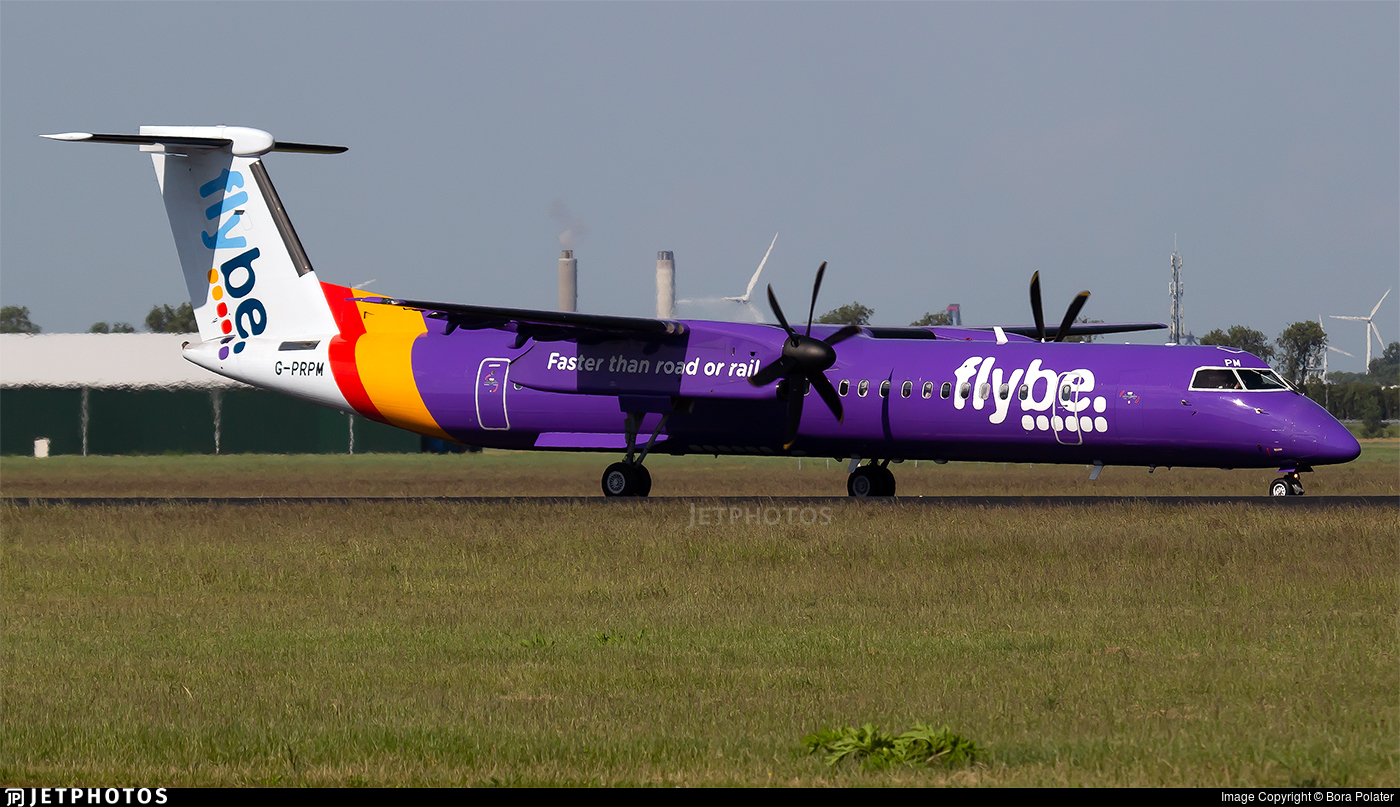 G-PRPM - Bombardier Dash 8-Q402 - Flybe