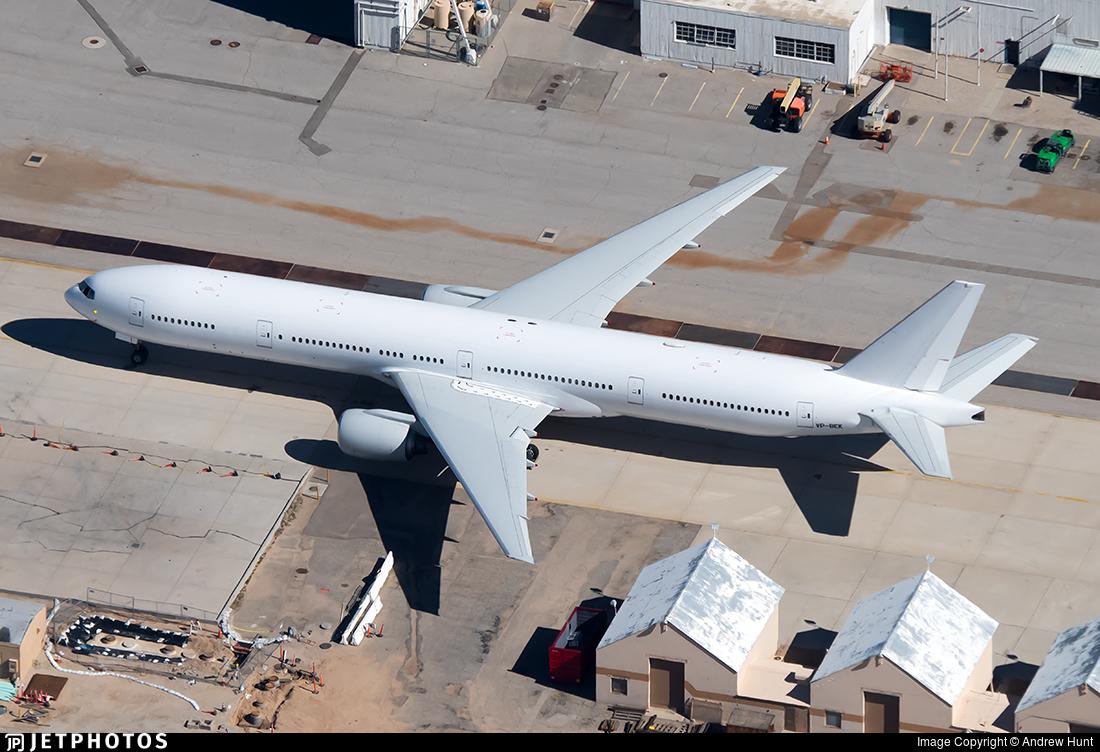 VP-BEK - Boeing 777-312 - Untitled