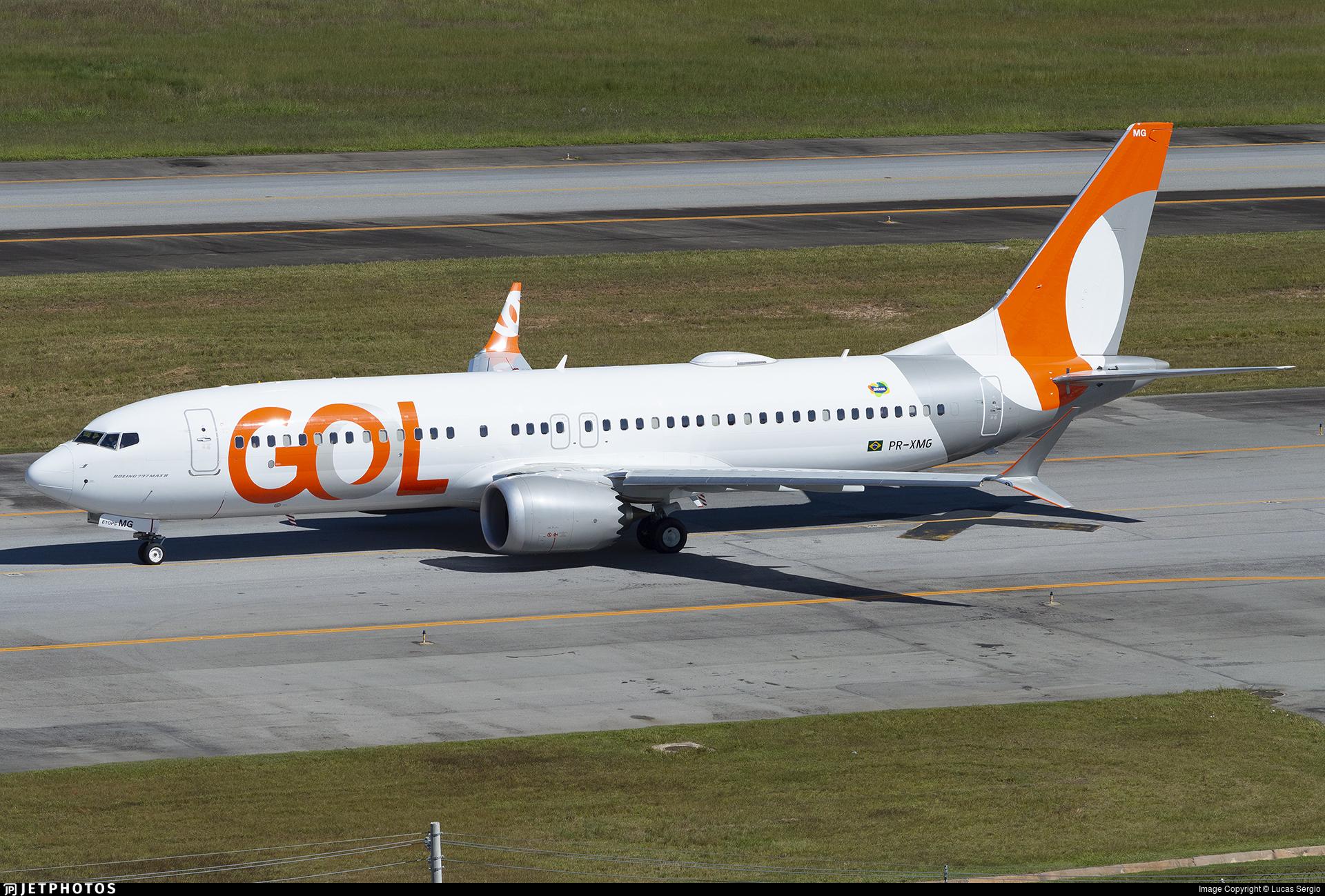 PR-XMG - Boeing 737-8 MAX - GOL Linhas Aereas