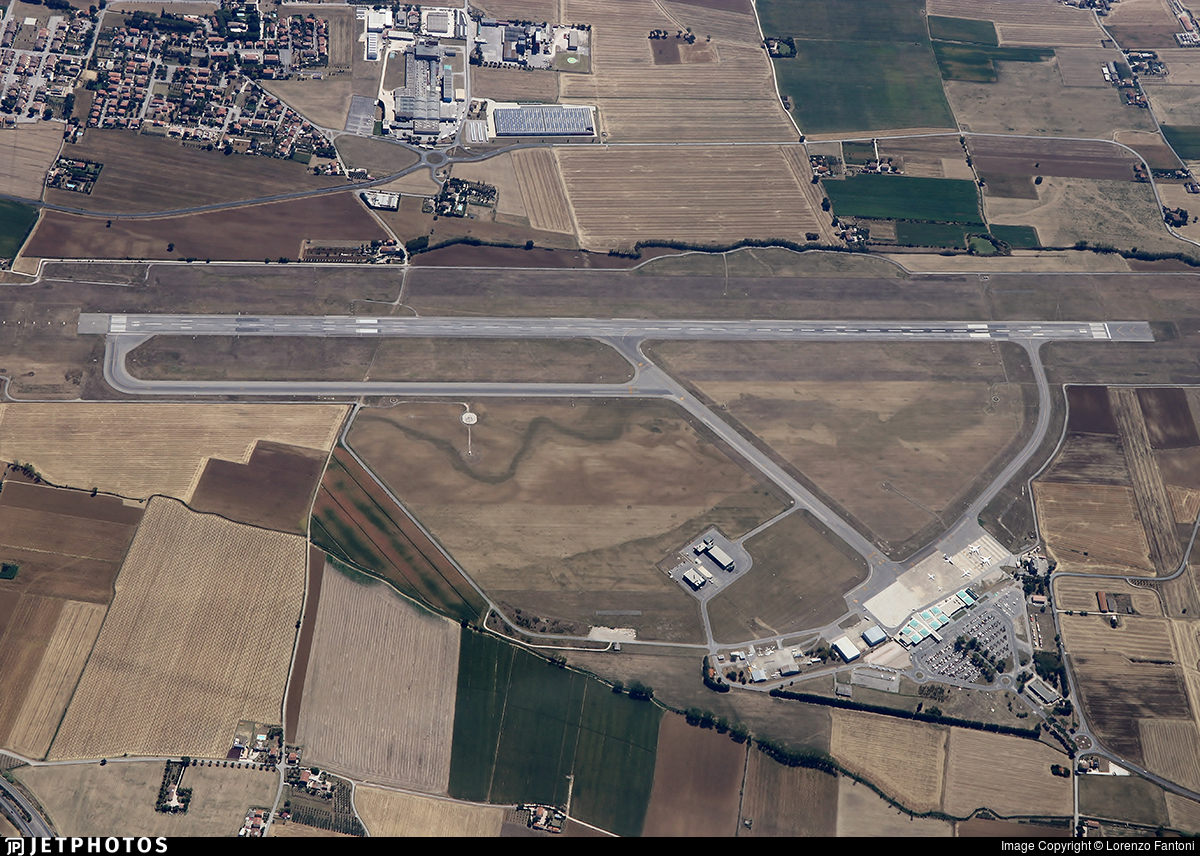 LIRZ - Airport - Airport Overview