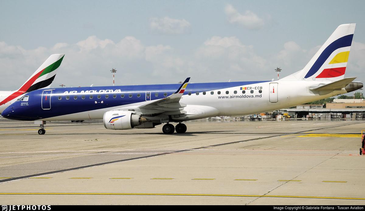 ER-ECB - Embraer 190-100LR - Air Moldova