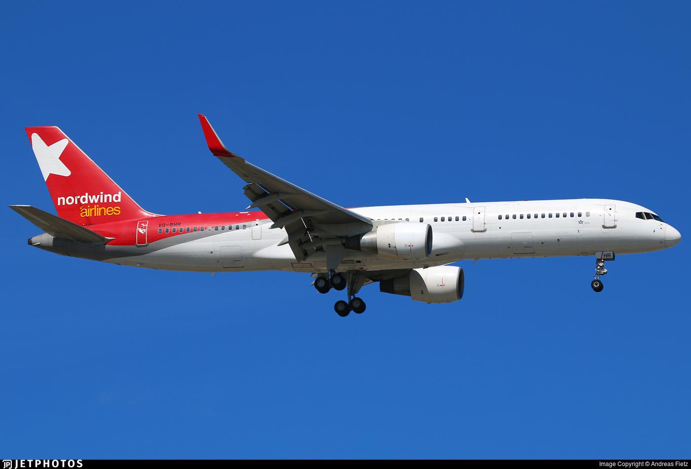 VQ-BHR - Boeing 757-2Q8 - Nordwind Airlines