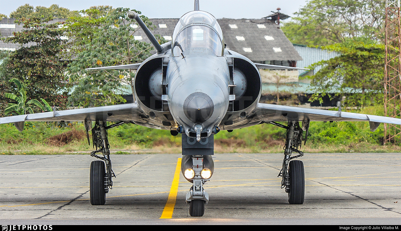 FAE-1860 - Denel Cheetah D - Ecuador - Air Force