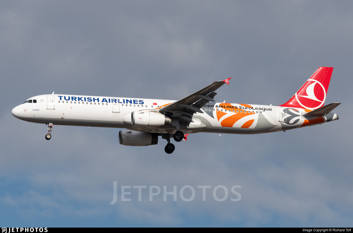 TC-JRO - Airbus A321-231 - Turkish Airlines