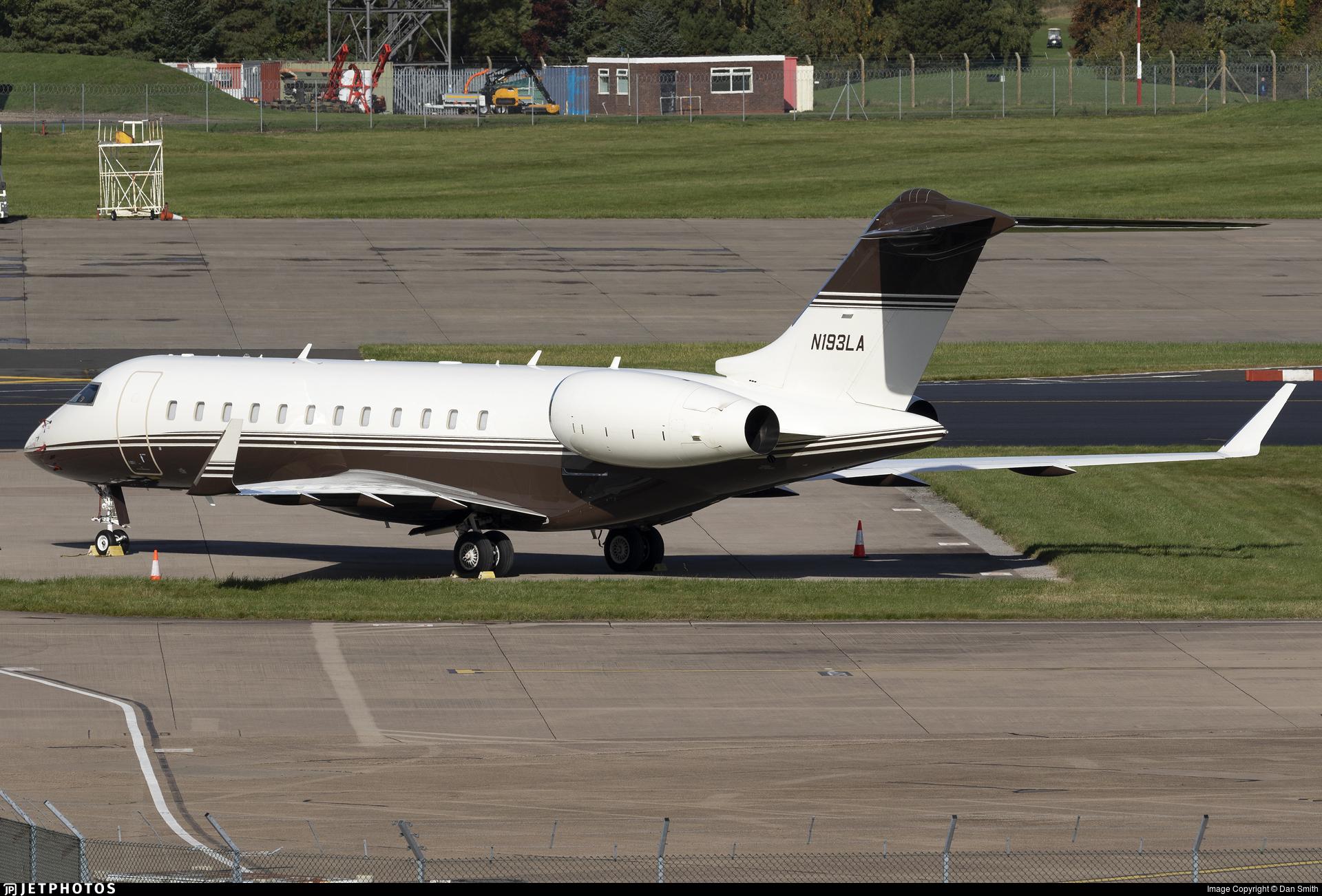 N193LA - Bombardier BD-700-1A11 Global 5000 - Private