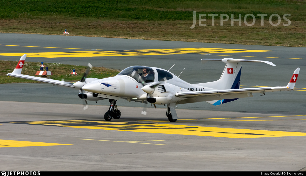 HB-LUJ - Diamond DA-42 Twin Star - Lufthansa Aviation Training