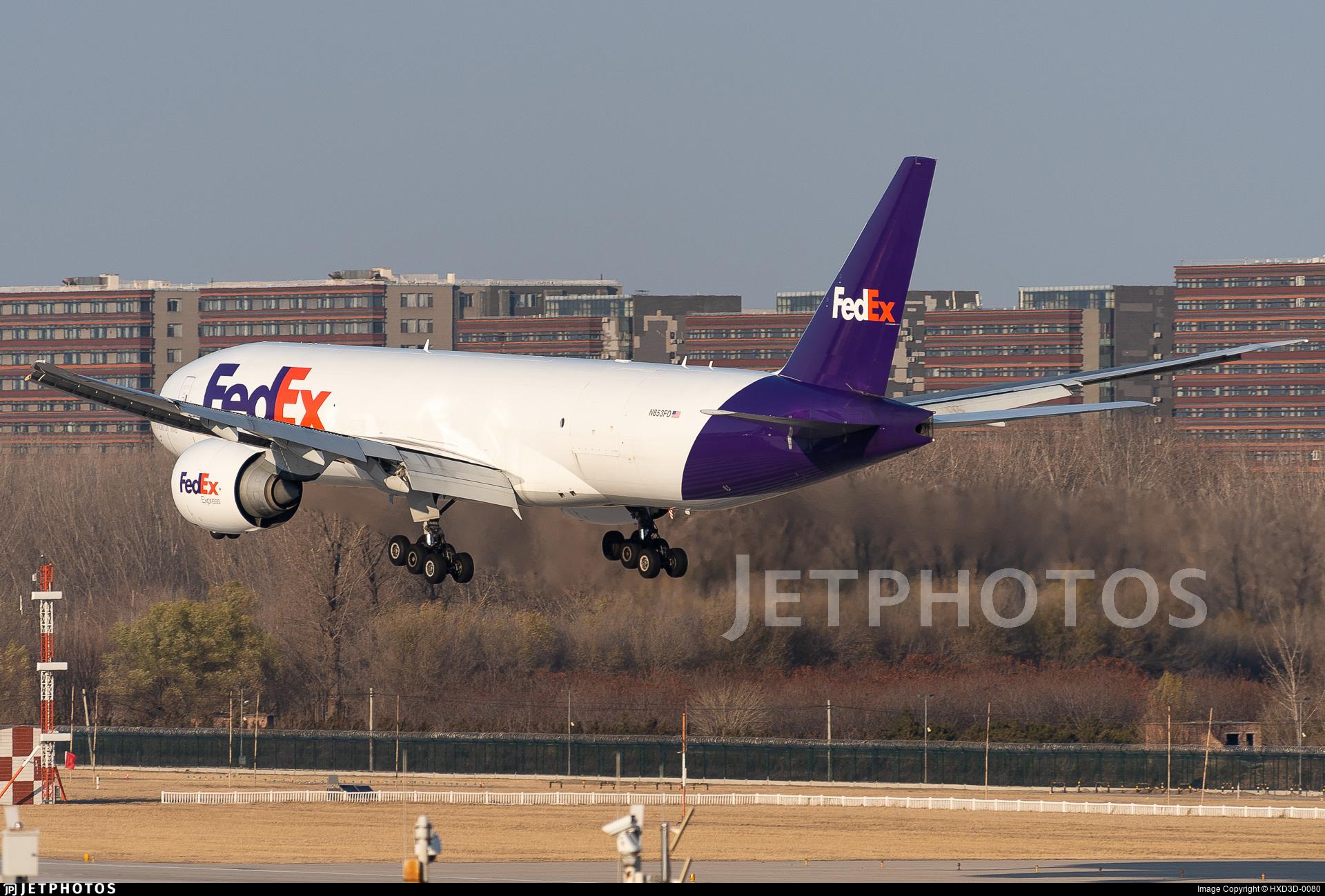 N853FD - Boeing 777-FS2 - FedEx