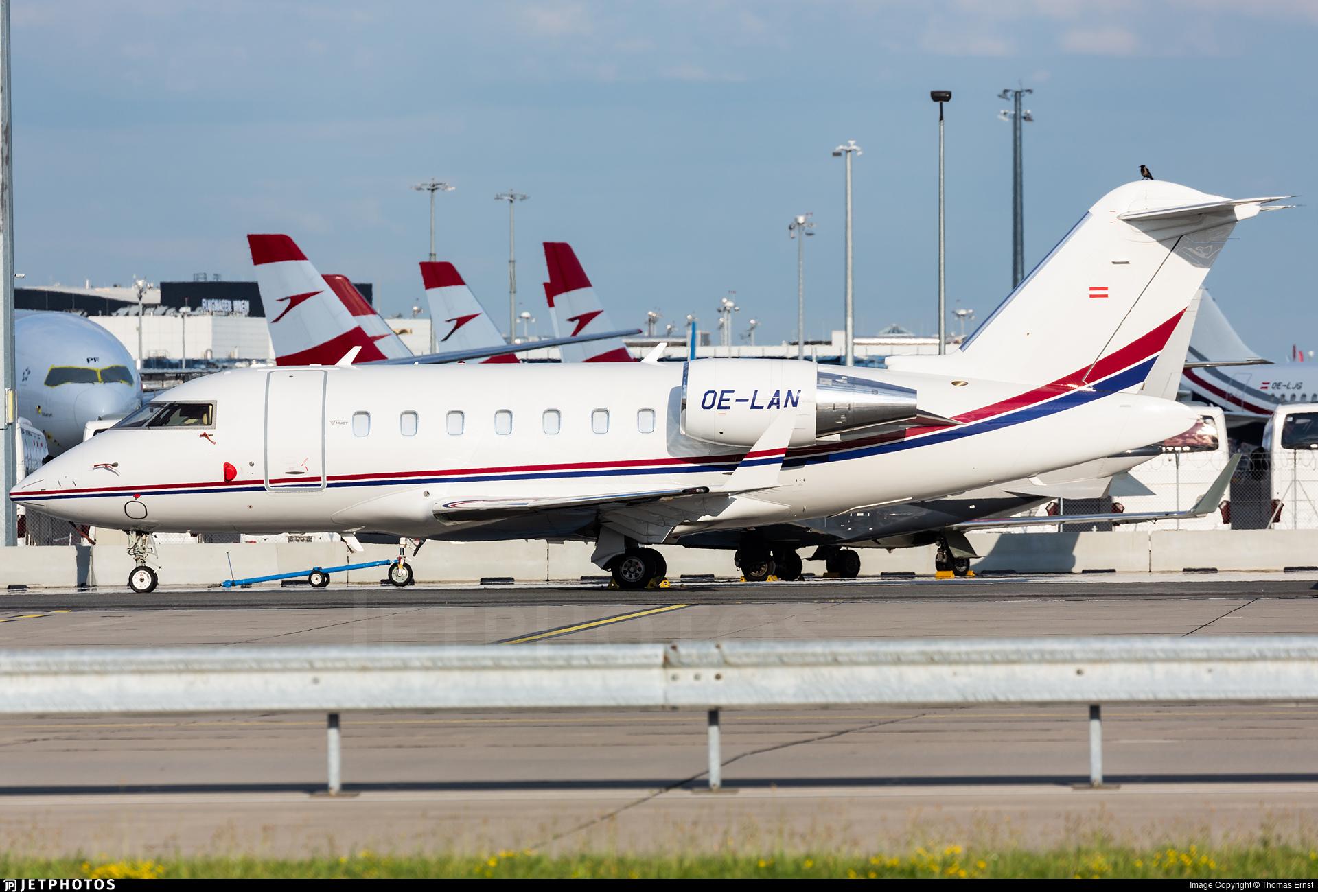 OE-LAN - Bombardier CL-600-2B16 Challenger 650 - MJet