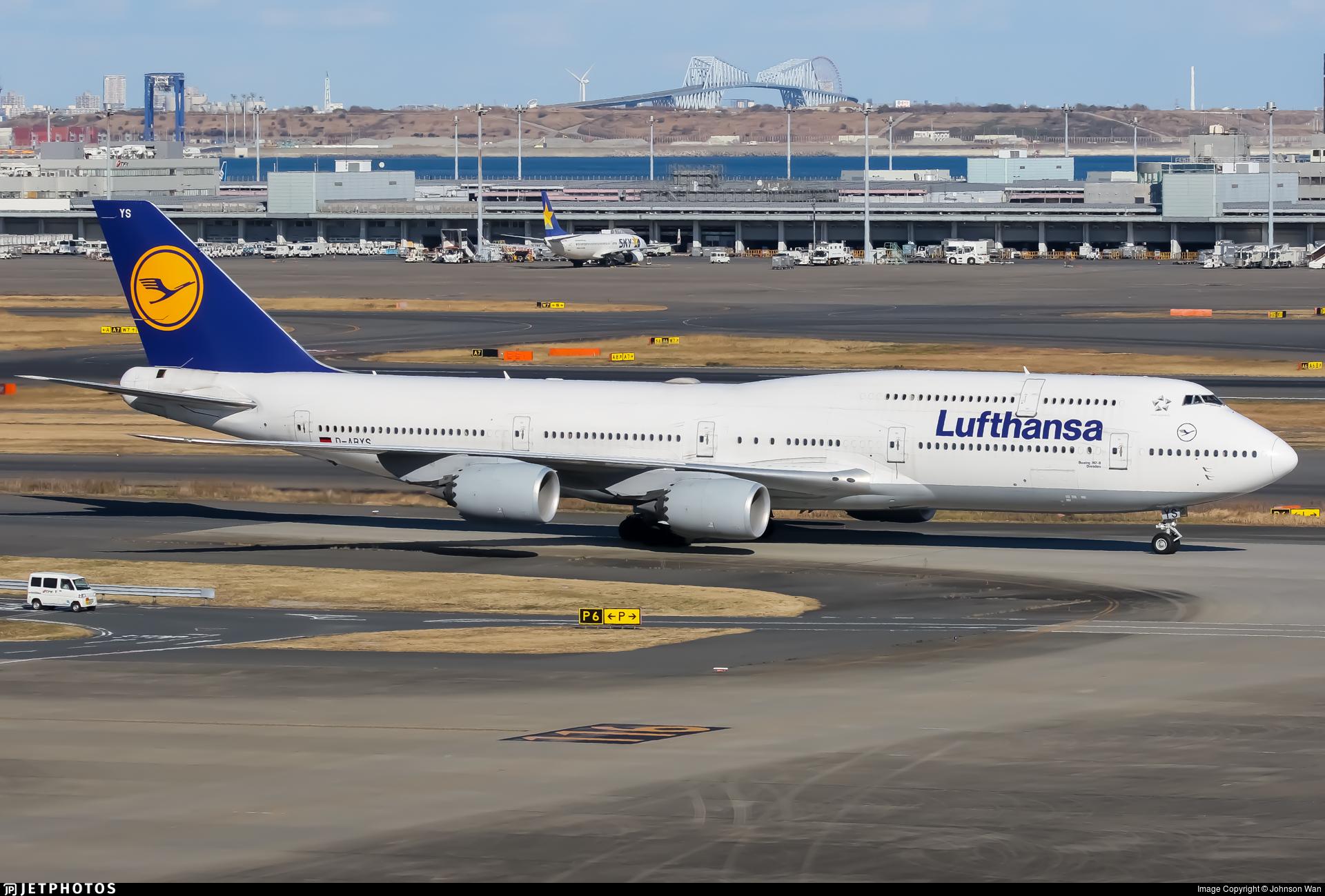 D-ABYS - Boeing 747-830 - Lufthansa