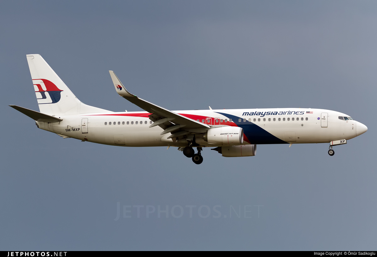 9M-MXP - Boeing 737-8H6 - Malaysia Airlines